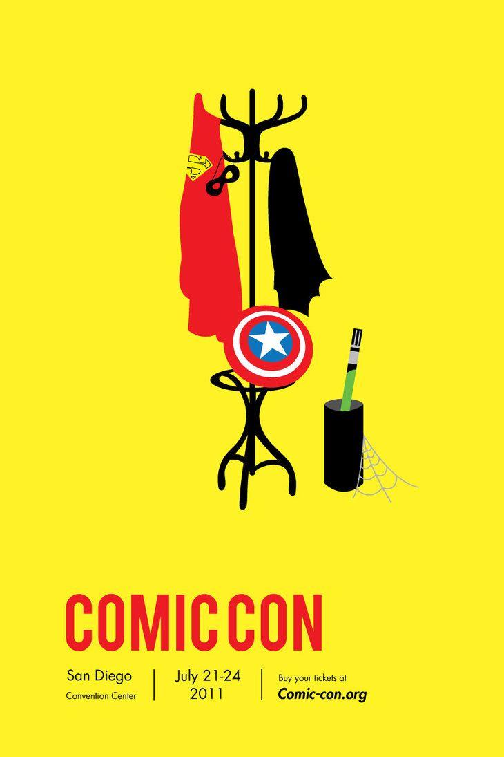 Comic Con Poster by KatWoman679