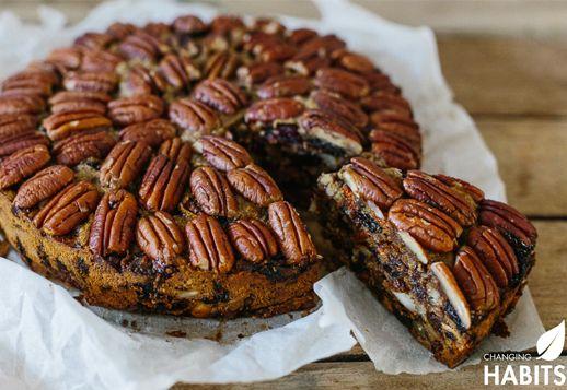 Pecan Cinnamon Spiced Fruit Cake