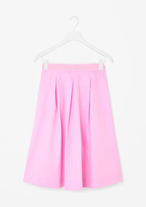 Une jupe néon