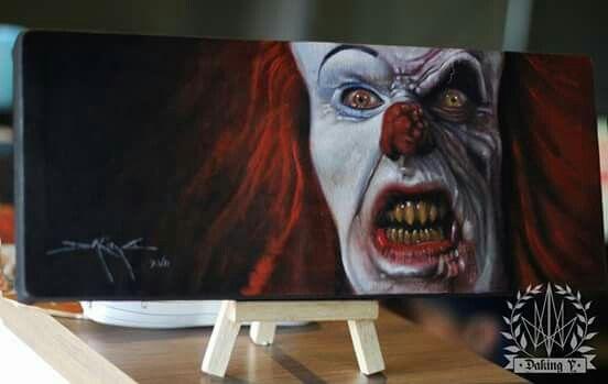 Pennywise. IT. Stephen King Artist: Daking Y