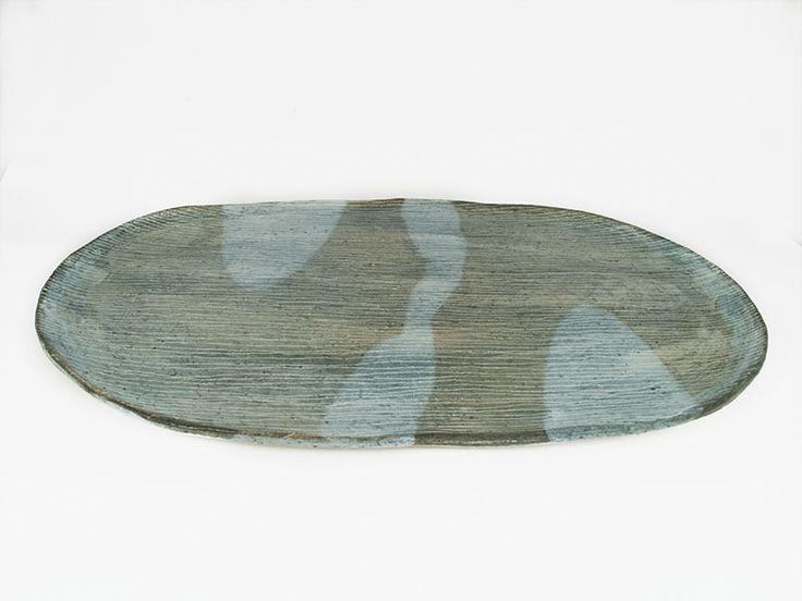 Junction Art Gallery - Yo Thom Large Plate http://www.junctionartgallery.co.uk/artists/ceramics/yo-thom