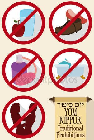 Traditional Prohibitions in Forbidden Signals and Scroll for Yom Kippur