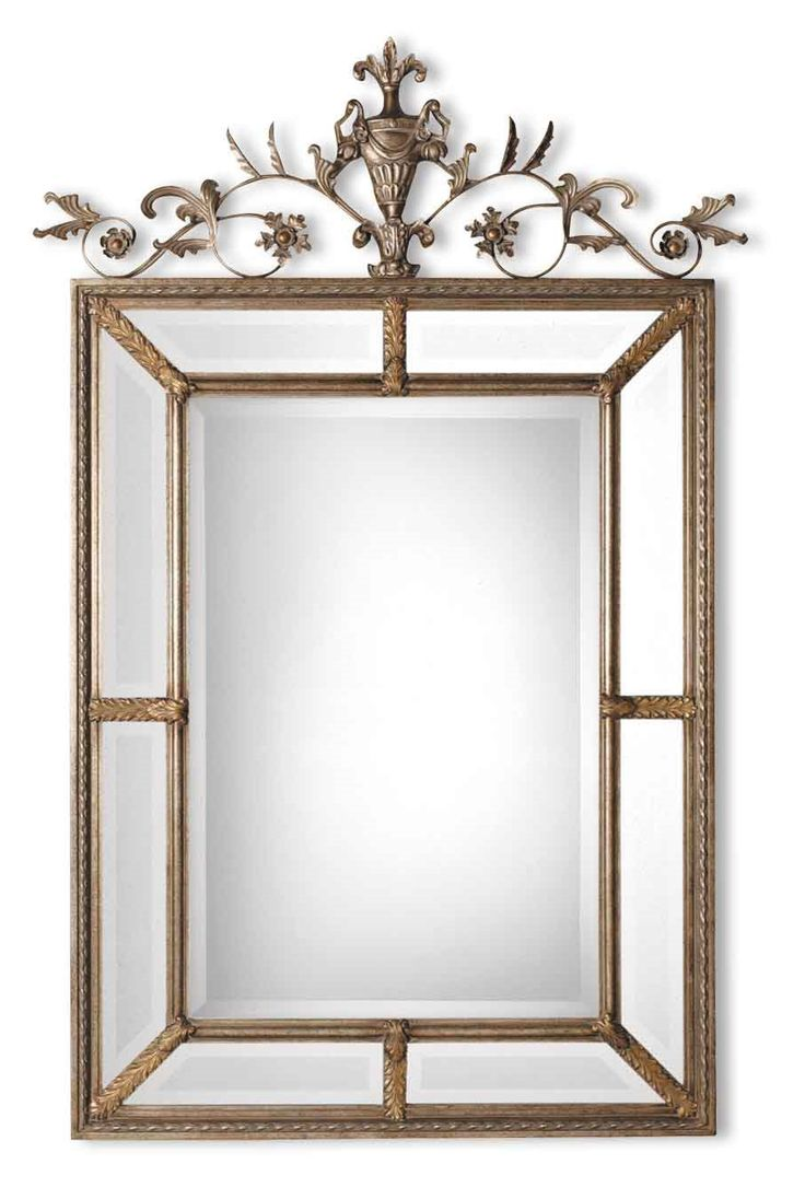 Williams sonoma home five panel beveled mirror - Le Vau Vertical Traditional Rectangular Mirror