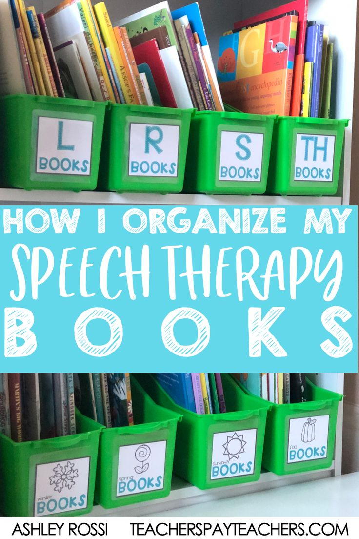How i organize my speech therapy materials sweet