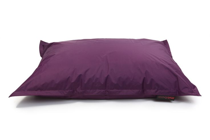 Pouf géant design prune BIG MILIBAG - Zoom