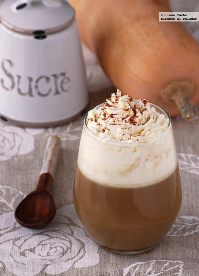 Receta de Pumpkin Spice Latte o café con leche de calabaza y especiado. Con fotos del paso a paso, consejos y sugerencias de degustación....