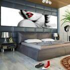 Poster Wanddekoration Plakat Grafik Marilyn Monroe rote Lippen Nr 82 #Dekoration…