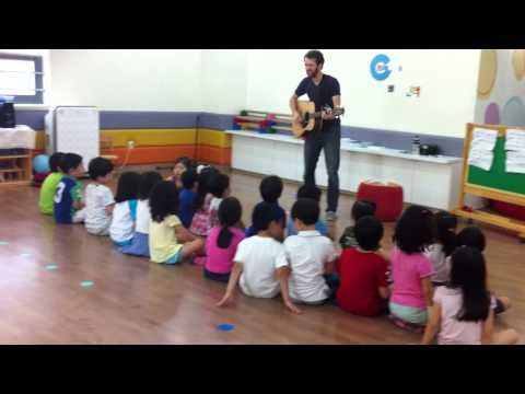 Iowa Fight Song - Korean Kinder----by Dave Beck