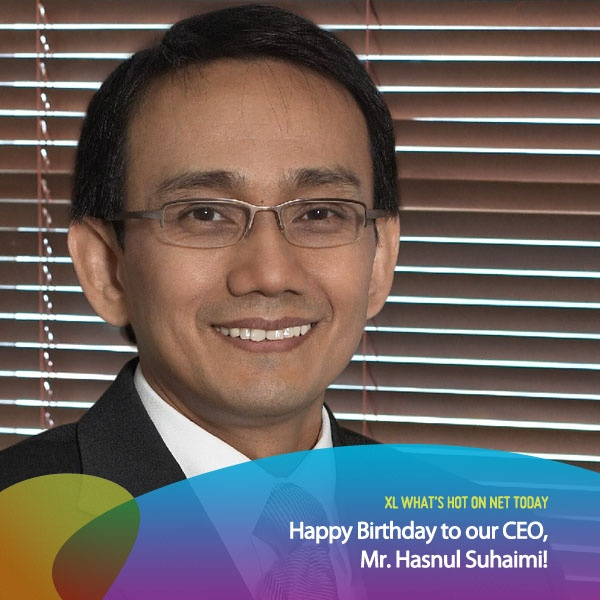 April 23rd was our CEO's Birthday! :)