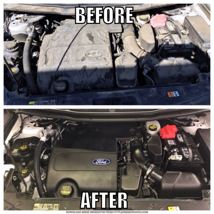 Engine detailing. Auto Detail out of Broken Arrow, Oklahoma, serving Tulsa. Call for appointments 918-855-5687.