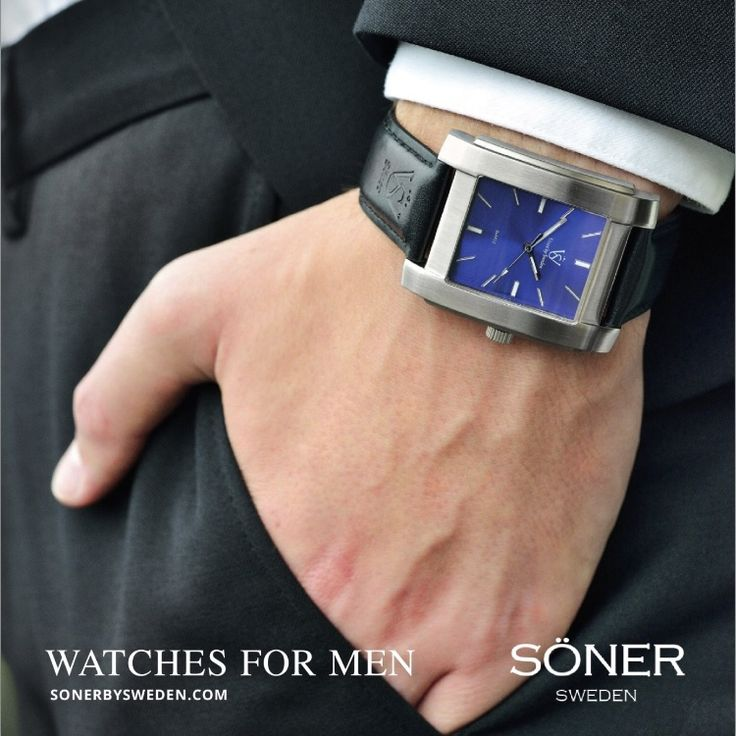 Söner by Sweden Style is personal // urban men // mens fashion // mens wear // mens accessories // casual men // mens style // urban living // gift ideas for him // gift ideas for men // quotes // for him // Father's Day // watches // mens warches // men watches // watches for men // men's watch  http://sonerbysweden.com