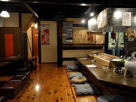 松本・ナワテ横丁に炉端焼き店「縁」 産地直送の魚・地元の肉を炭火で - 松本経済新聞