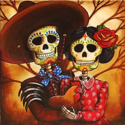 day of the dead couple - photo #22