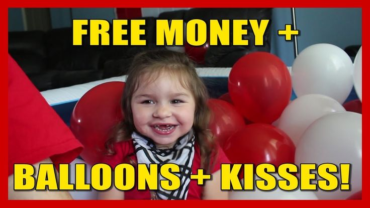 FREE MONEY + BALLOONS + KISSES!!! Our Happy Canada Day Family Fun Vlog!