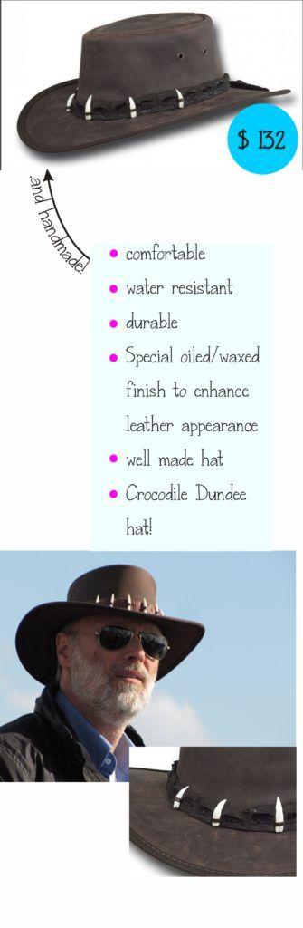 Barmah Crocodile Dundee hat - Hats to enjoy