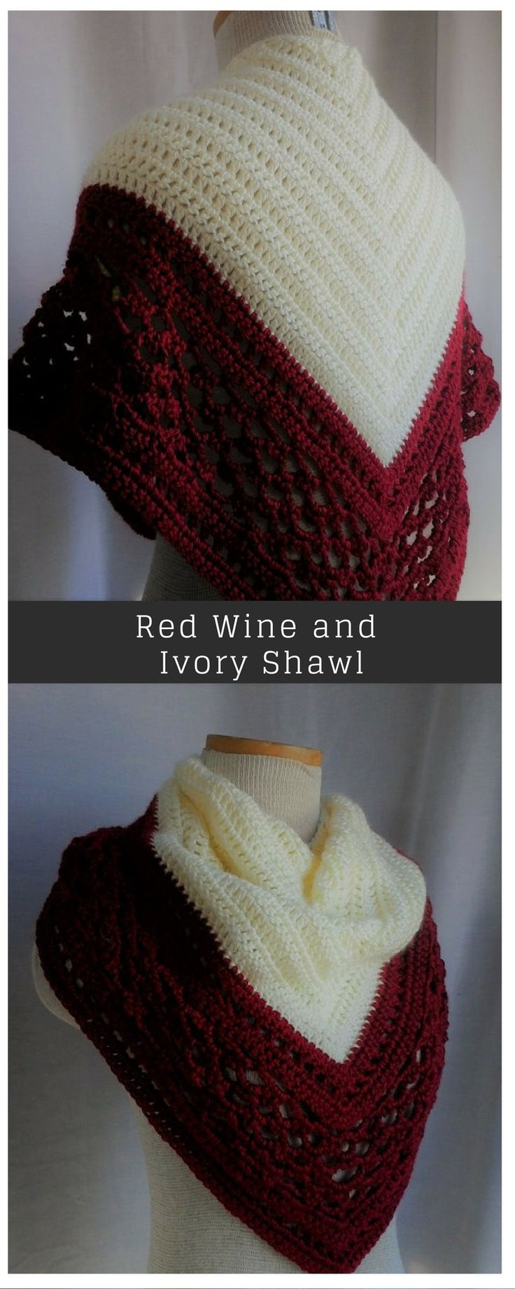 417 best Crochet shawls images on Pinterest