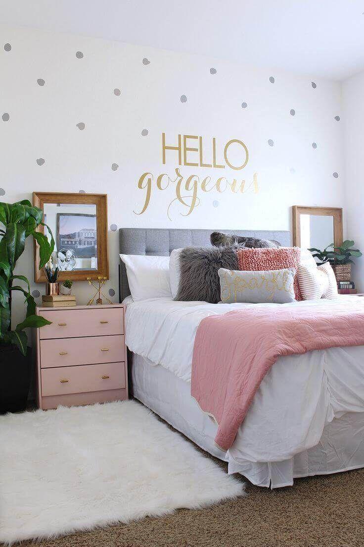 18 Crafty DIY Bedroom Furniture Makeover Ideas  Idees deco