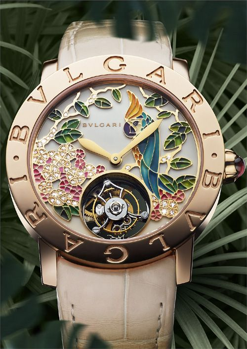 BaselWorld 2013: Introducing Bulgari's Il Giardino Tropicale | ATimelyPerspective
