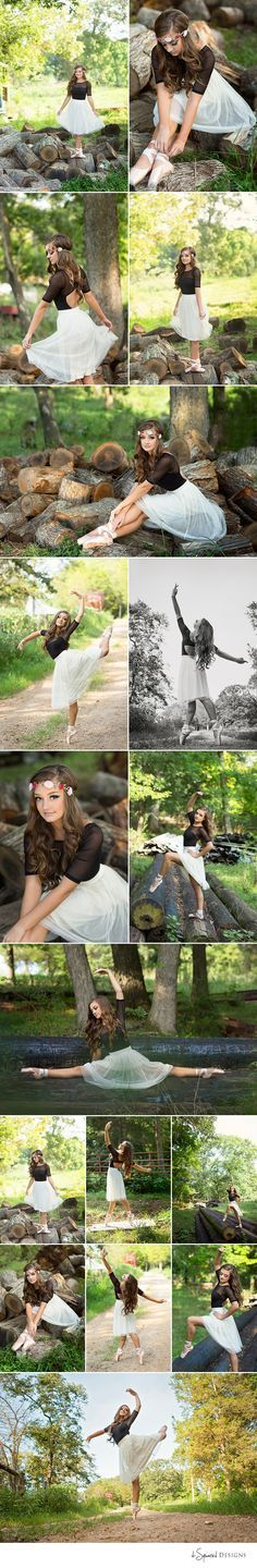 d-Squared Designs St. Louis, MO Senior Photography. Senior ballet photoshoot. Senior dancer. Outdoor dancing. Ballerina. Dance poses for senior pictures.