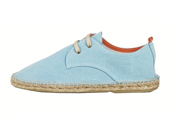 Abarca Shoes.     Colección Primavera-Verano 2013. Unisex.     Color: Aguamarina.