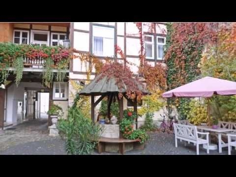 Adelheid Hotel garni - Quedlinburg - Visit http://germanhotelstv.com/adelheid-garni This family-run hotel enjoys a central location in the UNESCO historic town of Quedlinburg in the Harz Mountains. Hotel Adelheid offers a beautiful garden terrace.  Adelheid Hotel garni is a merchantâs house from the 17th century. -http://youtu.be/CiA2GbmcY2w