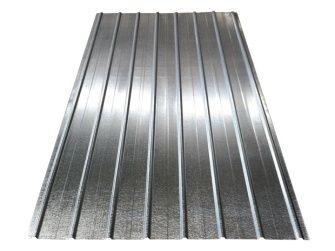 Stahl-Wellplatte Schwallblech PP12 (Natur)