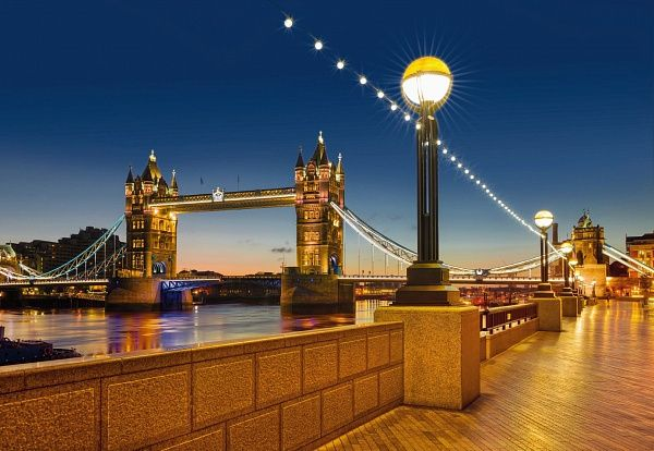 Фотообои на стену «Тауэрский мост. Город Лондон». Komar 8-927 Tower Bridge