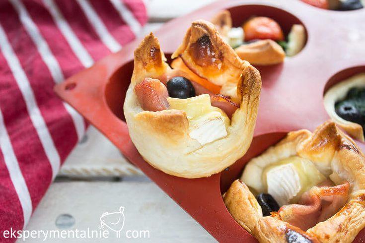 Puff Pastry with Ham and Cheese / Przekąski sylwestrowe – ciasto francuskie z serem i szynką