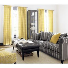 41 best Gray and Yellow Living Room images on Pinterest ...