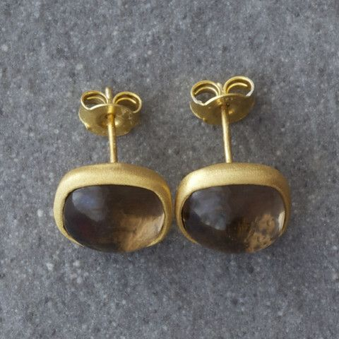 Plaza Smoky Earrings