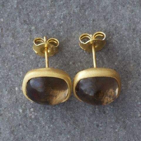 Plaza Smoky Earrings