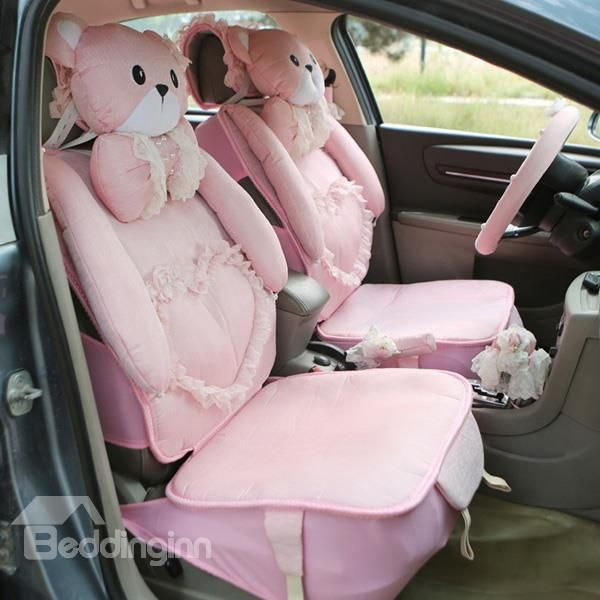 Pretty Cute And A Variety Of Beautiful Accessories Car Seat Cover