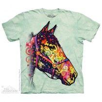 The Mountain, Funky Horse felnőtt rövidujjú 3D amerikai póló