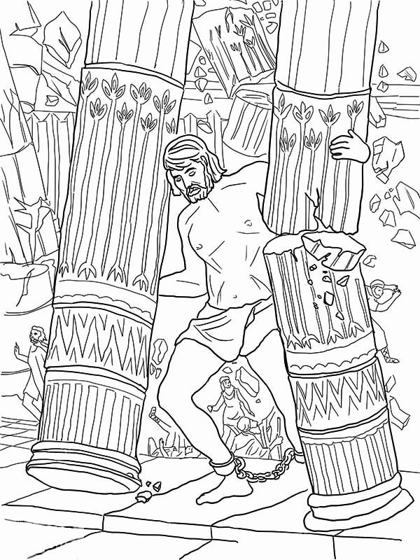 Samson And Delilah Coloring Page Beautiful Sampson And Delilah Coloring Pages Coloring Home Coloring Pages Bible Coloring Pages Valentine Coloring Pages