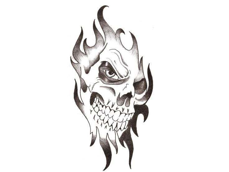 Tattoo Trends – Snake Skull Horseshoe Tattoo Design Photo – 2, Pictures and Ideas