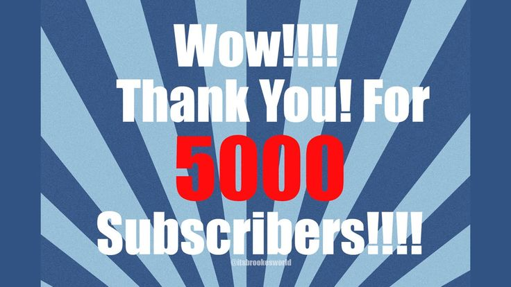 THANK YOU FOR 5000 SUBS! I am a Canadian Youtuber #Teenblogger