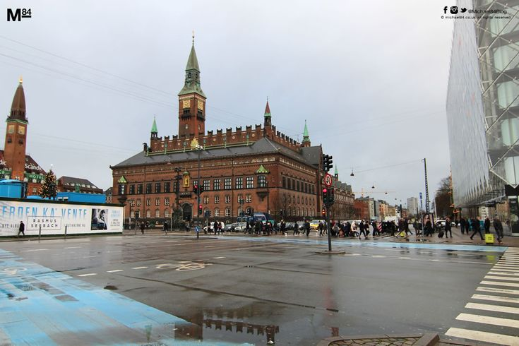 I stayed in Rådhuspladsen the square in the city centre of Copenhagen. It really is the place to stay if you want to be central.