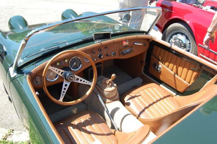 AustinHealey Sprite MkI Frog Eye BugEye 19581961 interior