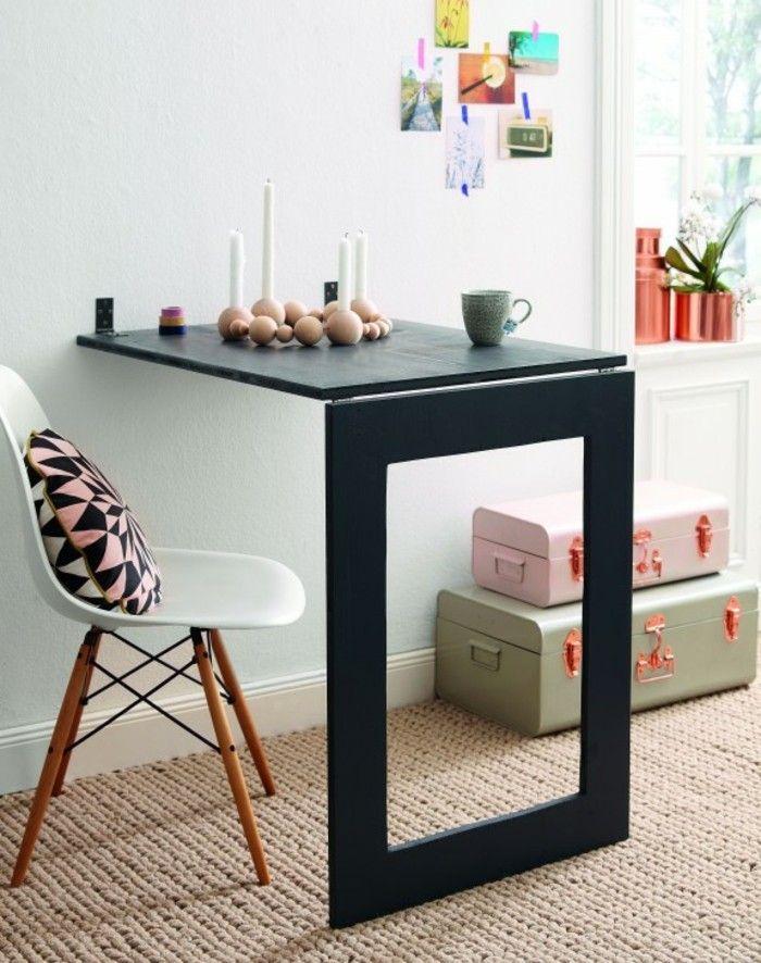 do build folding table yourself it yourself ideas dining table Scandinavian living dekokissen geometric pattern