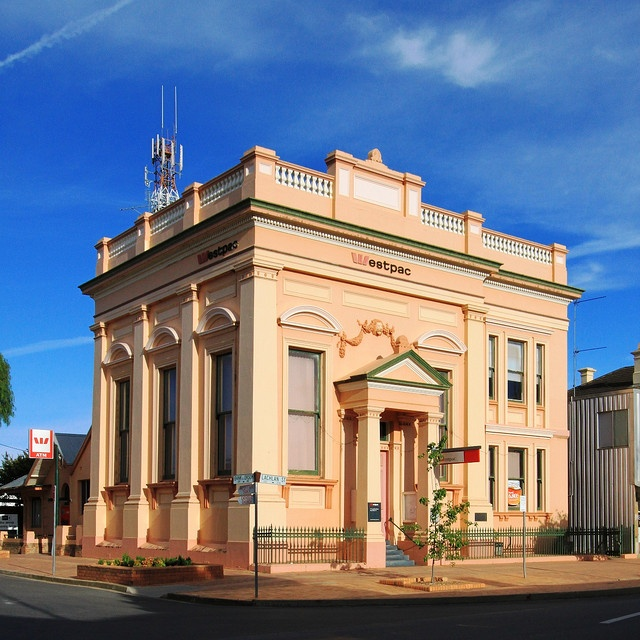 Bank of New South Wales (now Westpac), Hay, NSW, Australia     http://viettelidc.com.vn