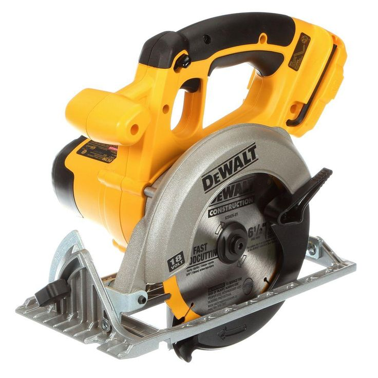 DEWALT 18-Volt 6-1/2 in. (165 mm) Cordless Circular Saw (Tool-Only)-DC390B - The Home Depot