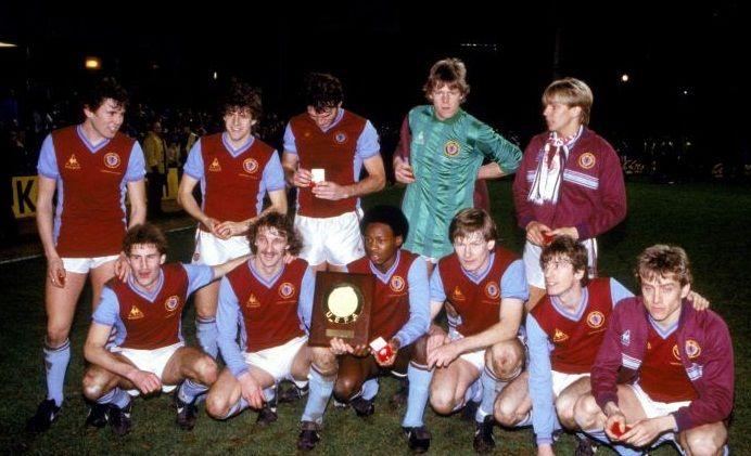 Aston Villa Barcelona Super cup 1983 - #Aston Villa #Quiz #Villa