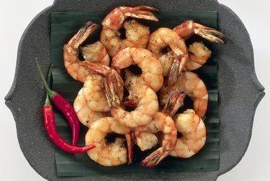 Stir-Fried Thai Garlic Shrimp Recipe
