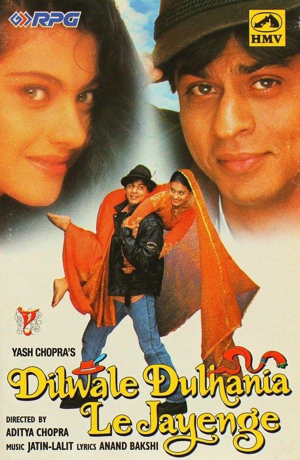 Dilwale Dulhania Le Jayenge 1995 Shah Rukh Khan, Kajol