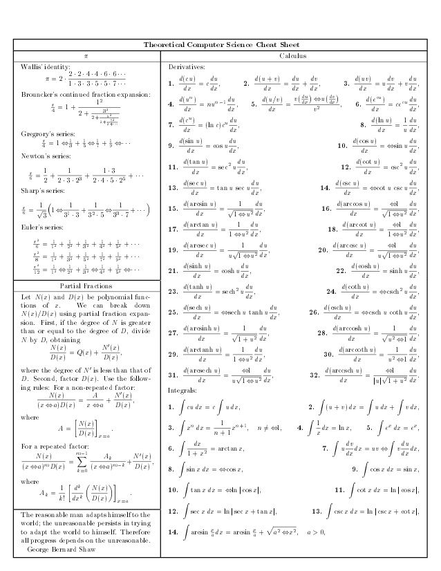 48 best Mathématiques images on Pinterest | Cheat sheets, Notes and ...