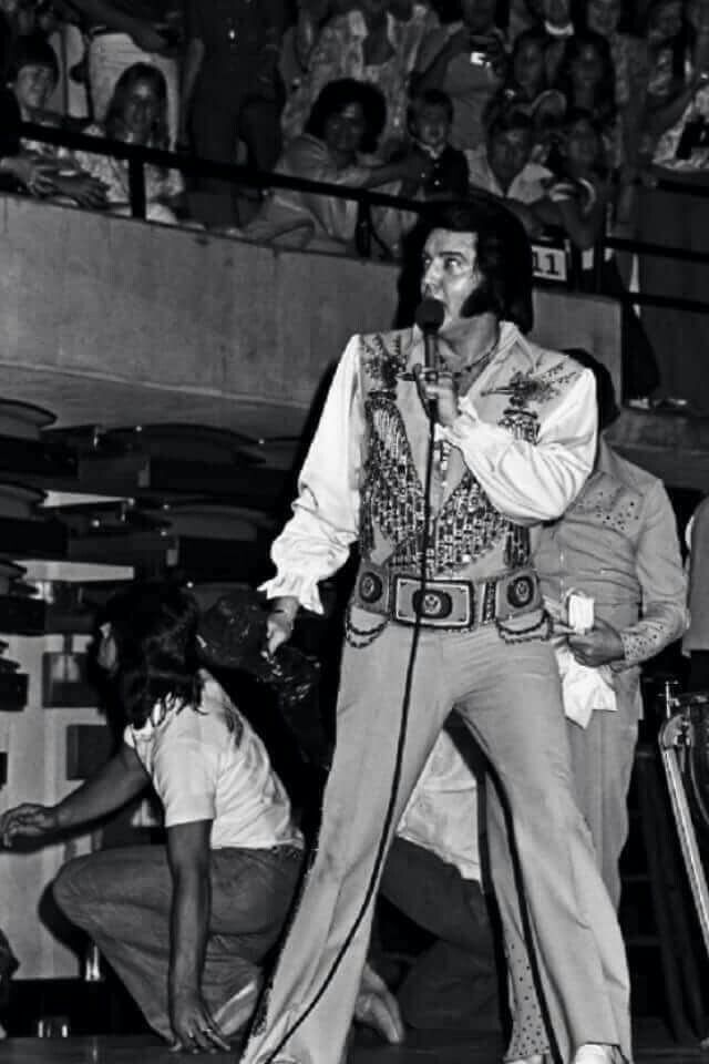 1427 Best Images About Elvis In Concert On Pinterest