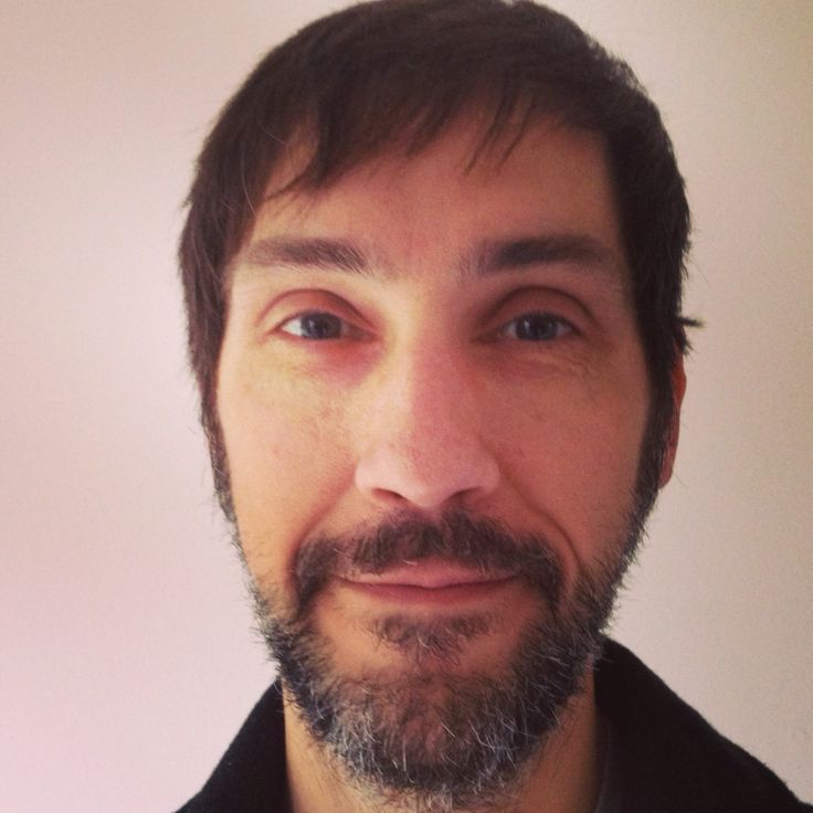 46th Birthday with grey beard.