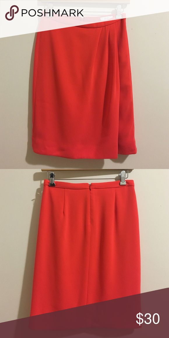 • J crew Ariel crepe skirt size 0 • Perfect  condition. 100% Polyester. Wrap affect front. No trades. J. Crew Skirts A-Line or Full
