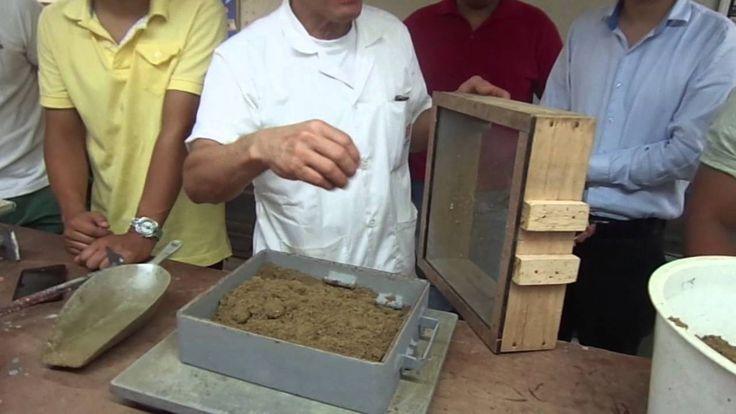 Laboratorio de practica de moldes y fundición en arena #1