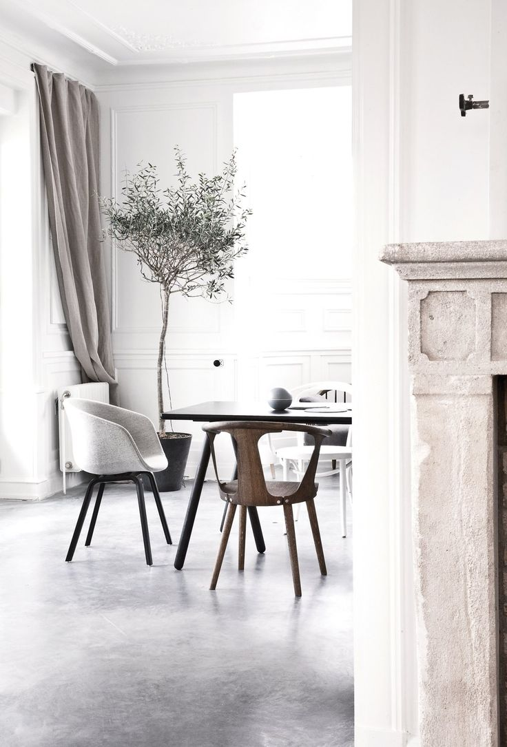 Space saving dining tables wenge minima simple aluminium dining table - Vedbaek House Iv By Norm Architects Space Projectsdining Tabledining
